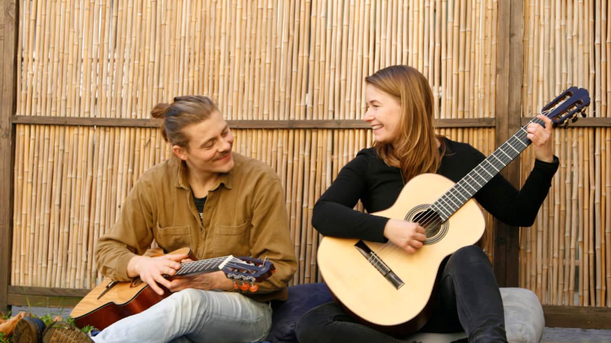 gitarre üben umgang mit sinnen